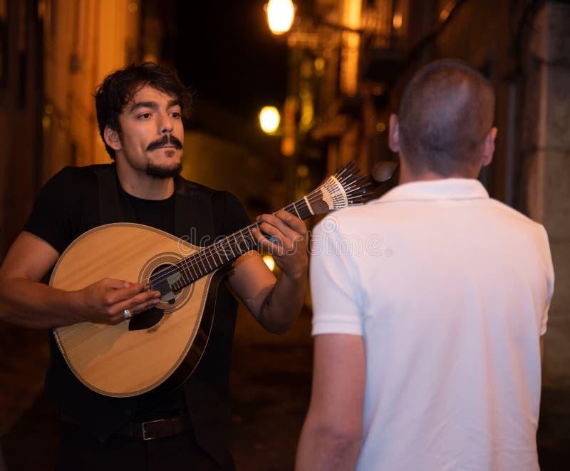 Canci?n portuguesa del Fado imagenes de archivo