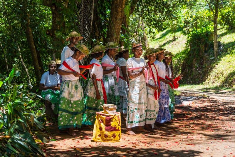 Canciones populares de Madagascar, África fotografía de archivo