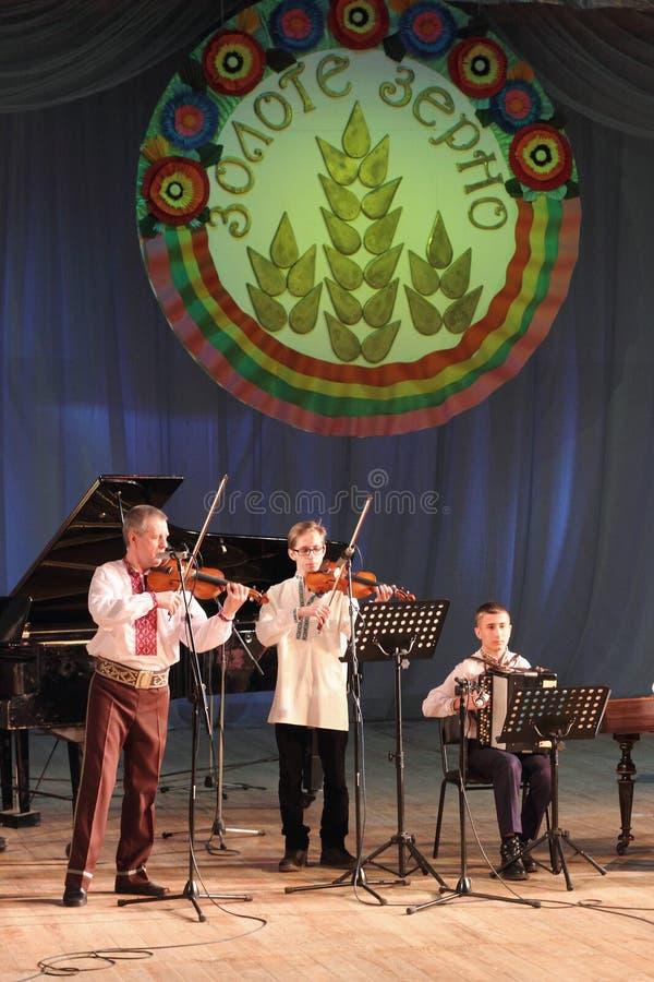 Canciones populares ucranianas fotos de archivo libres de regalías