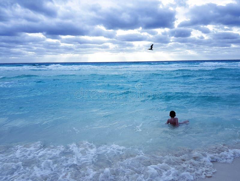 cancun Мексика стоковое изображение