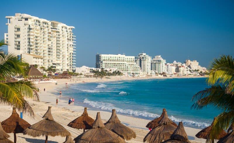 cancun Мексика стоковые фотографии rf