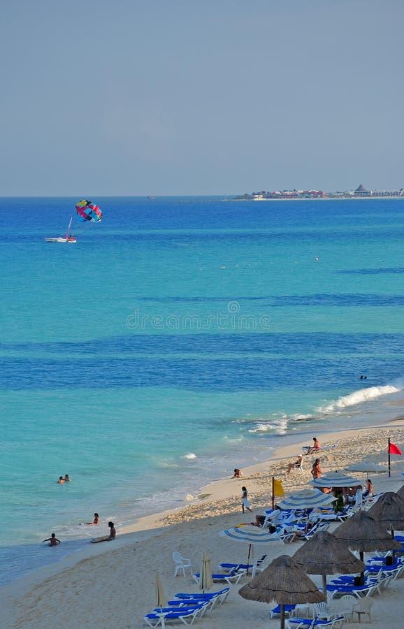 Cancun immagine stock