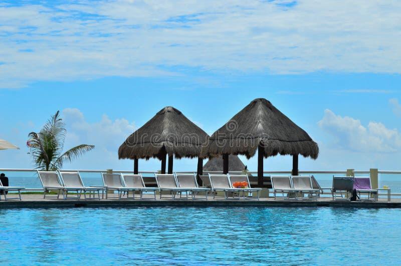 cancun fotografia stock
