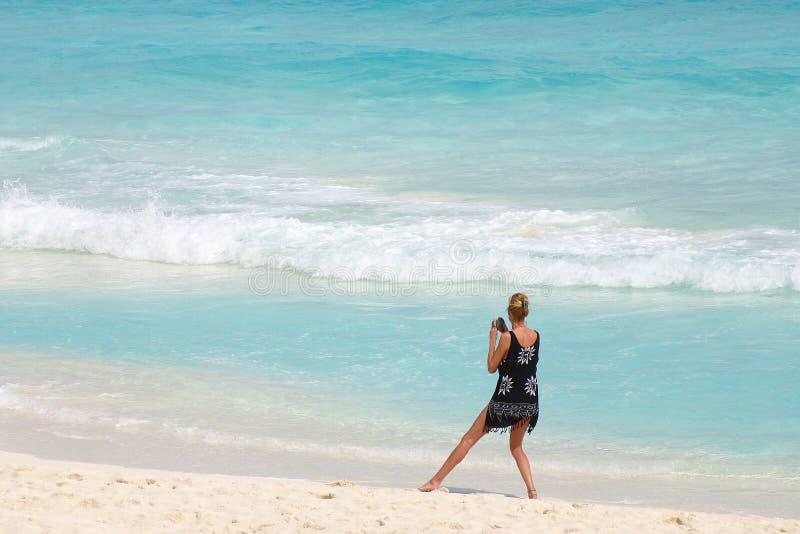 Cancun stockbild