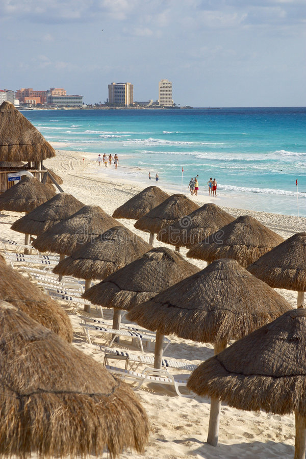 Cancun stockbild