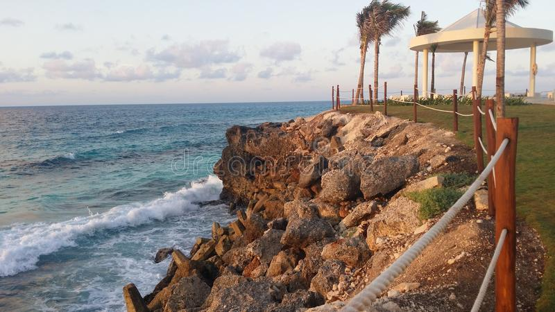 Cancun Coastline royalty free stock images