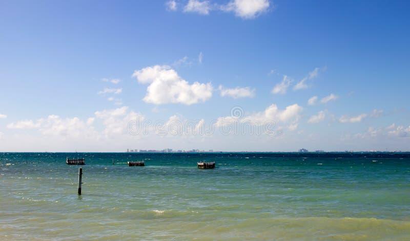 Cancun horyzont obraz stock