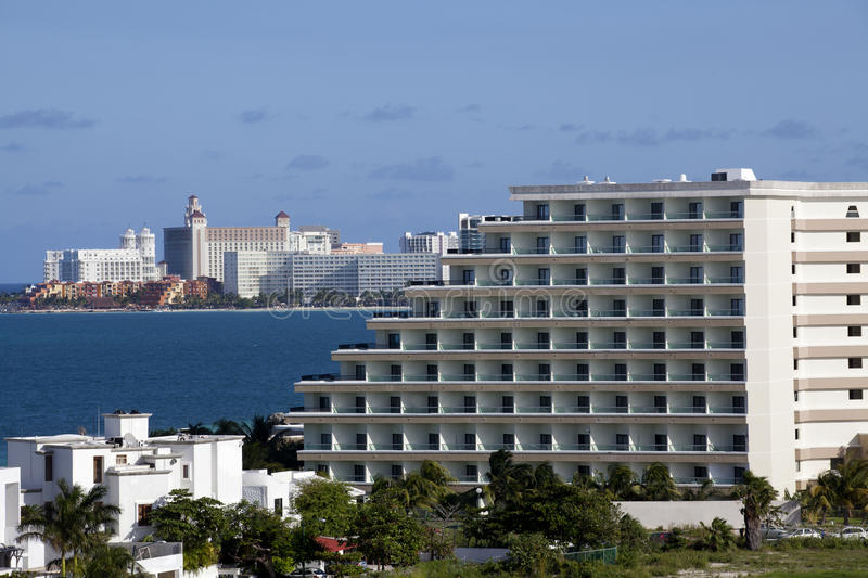 Download Cancun Mexico stock image. Image of daytime, condos, mexico - 22534767