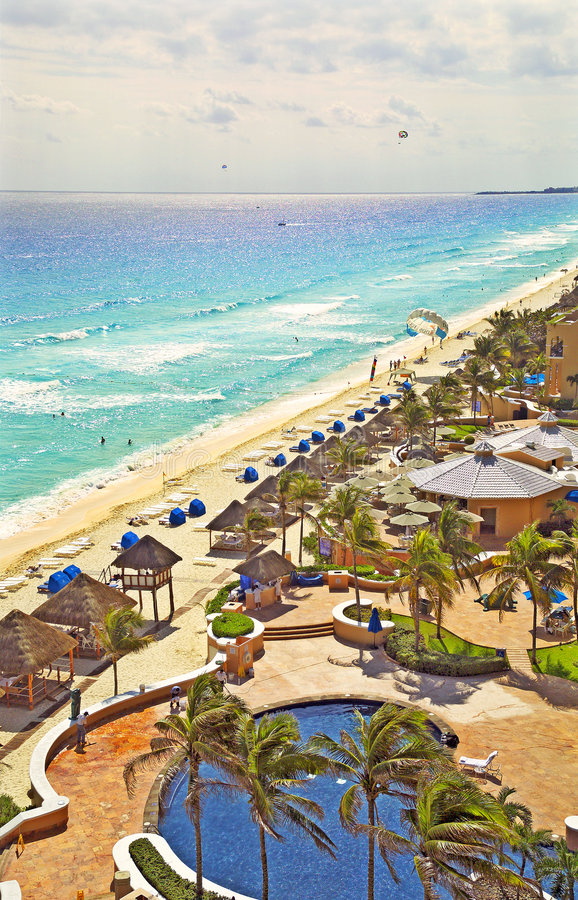 Download Cancun, Mexico 41312 (color) Stock Photo - Image: 121290