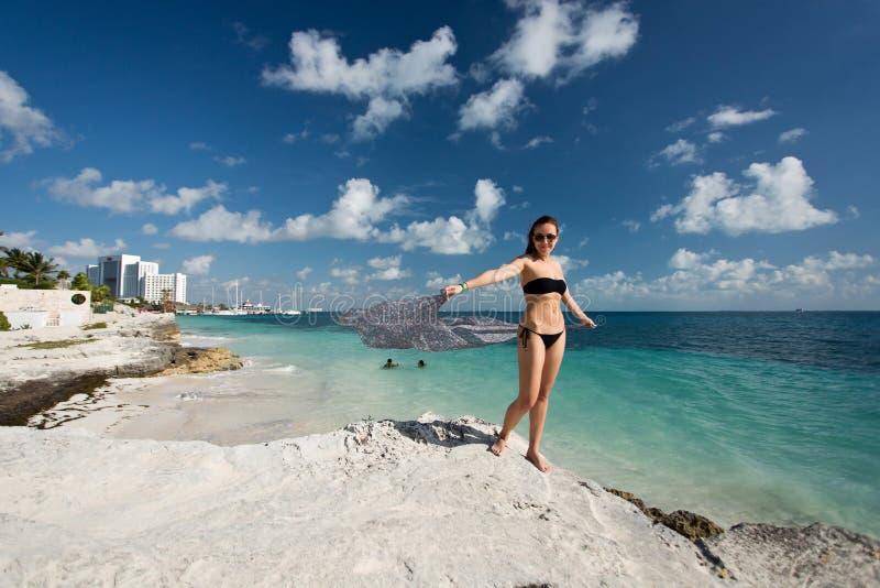 Cancun in Mexico royalty-vrije stock foto's