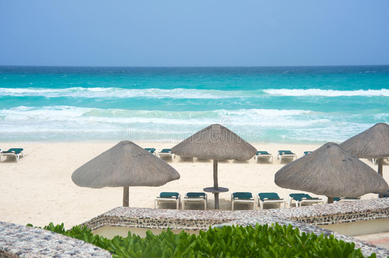 Download Cancun Mexico beach stock image. Image of mexico, kiosk - 20462583