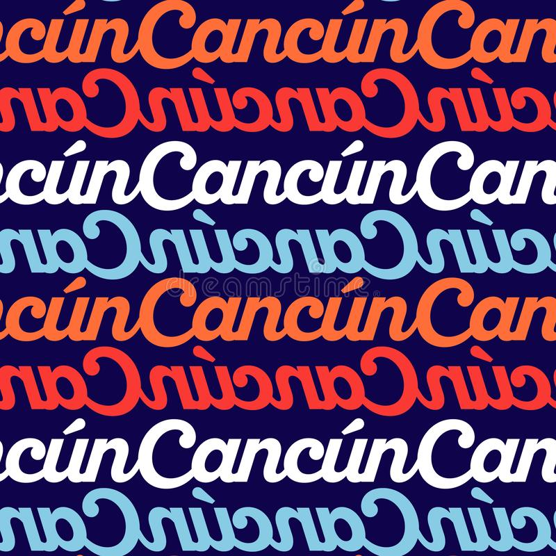 Cancun Stock Illustrations