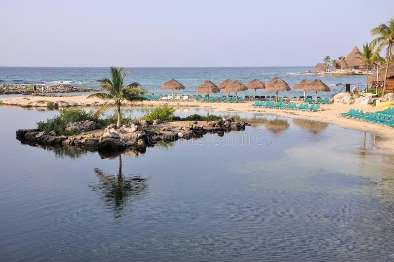 Cancun Mexiko stockbilder