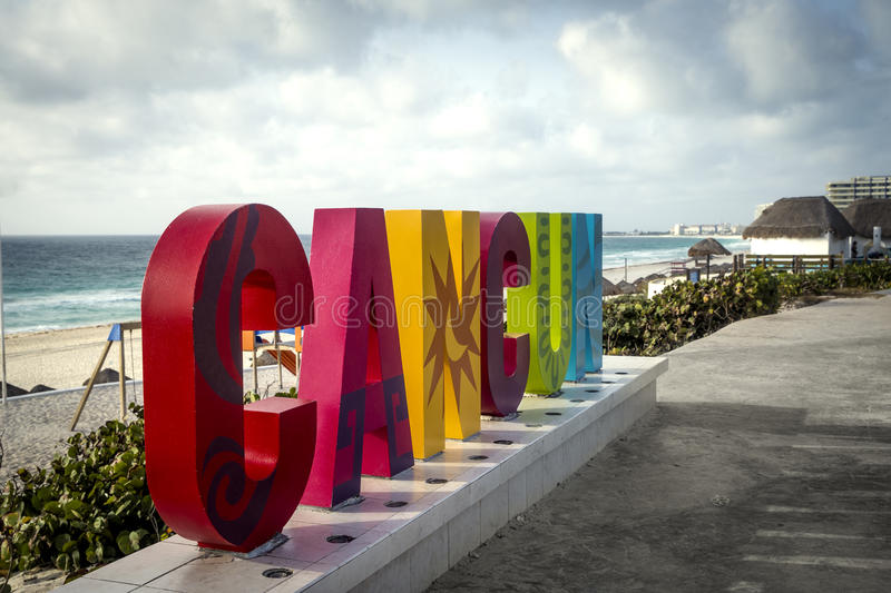 Cancun, Mexique photo stock