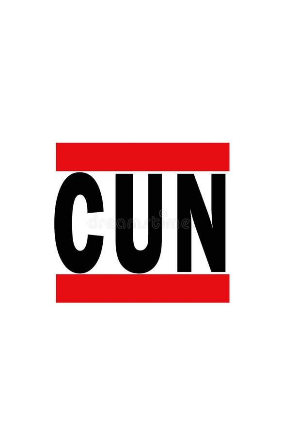 Cancun, Mexique illustration libre de droits