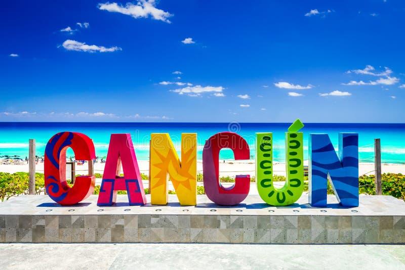 Cancun, Yucatan Riviera Maya, Μεξικό στοκ εικόνες