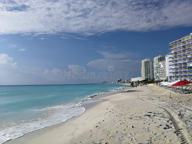 CancunBeach02 στοκ φωτογραφία
