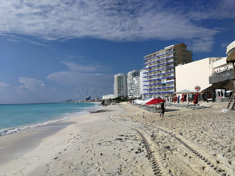 CancunBeach03 στοκ εικόνες