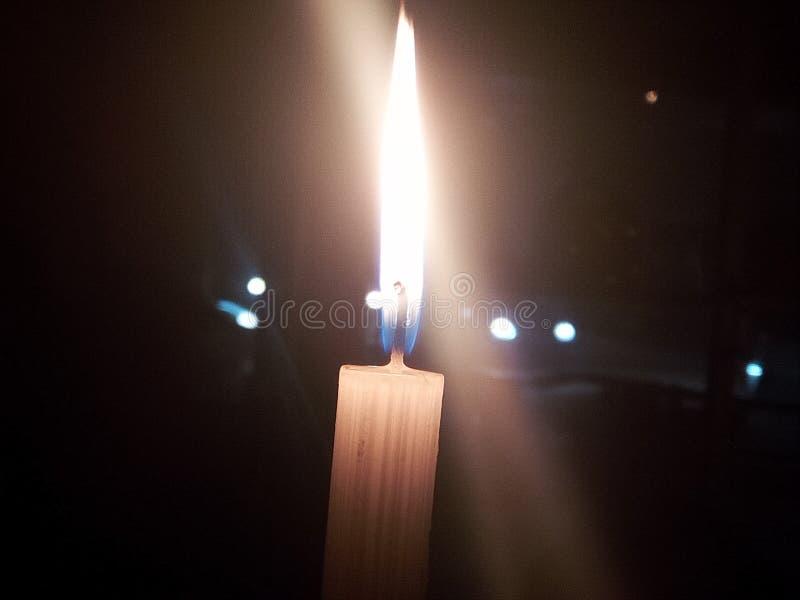 Candel triste imagen de archivo libre de regalías