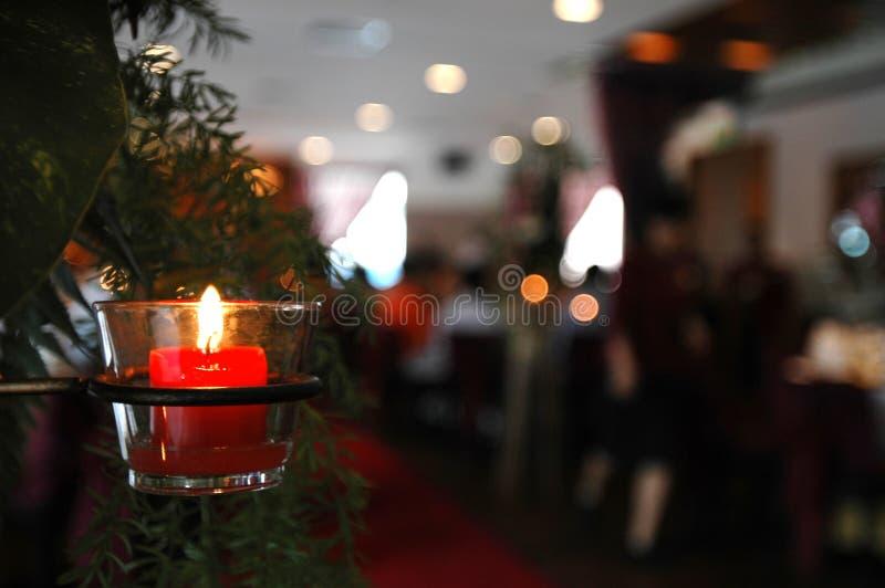 Download Candela immagine stock. Immagine di romantico, rosso, amare - 219397