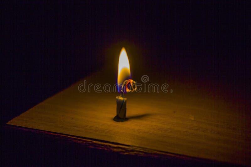 Candela Burning immagini stock libere da diritti