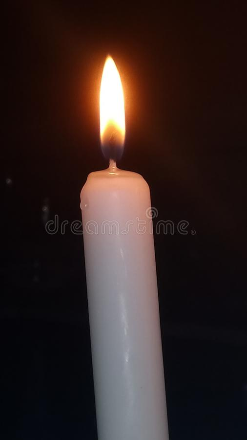 Candela Burning immagine stock