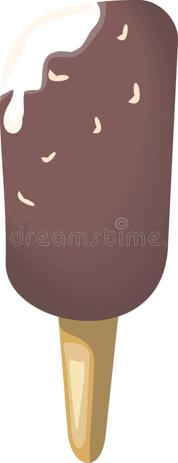 Candela del gelato illustrazione di stock