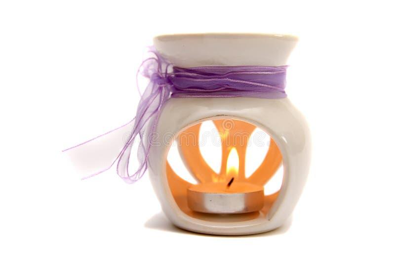 Candela per aromatherapy immagine stock libera da diritti