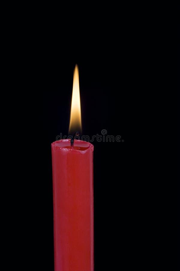 candela rossa immagini stock libere da diritti