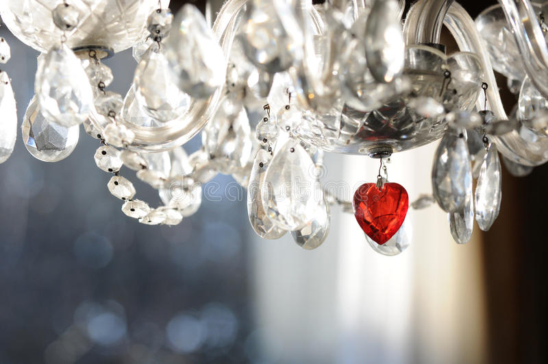 Candelabro do Valentim imagens de stock royalty free