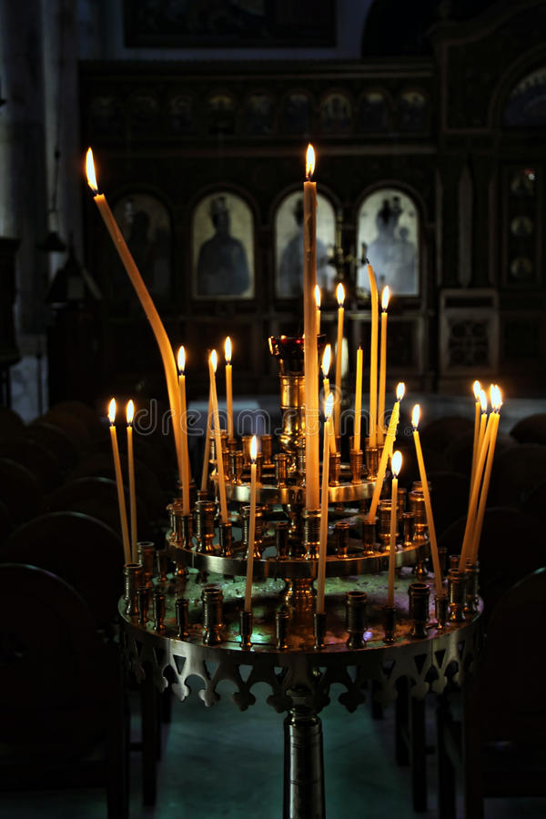 candelabros fotografia de stock