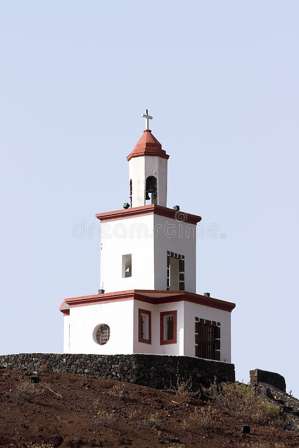 Candelaria παρεκκλησι, EL Hierro στοκ εικόνες