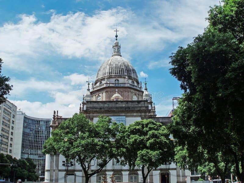 Candelaria Church fotografie stock libere da diritti