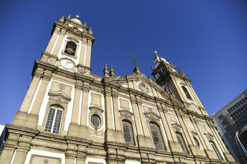 Candelaria Church stock photography