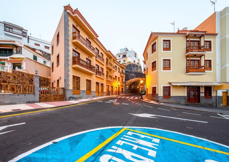 Candelaria town on Tenerife island stock photos