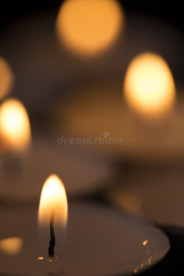 Candele Burning immagine stock