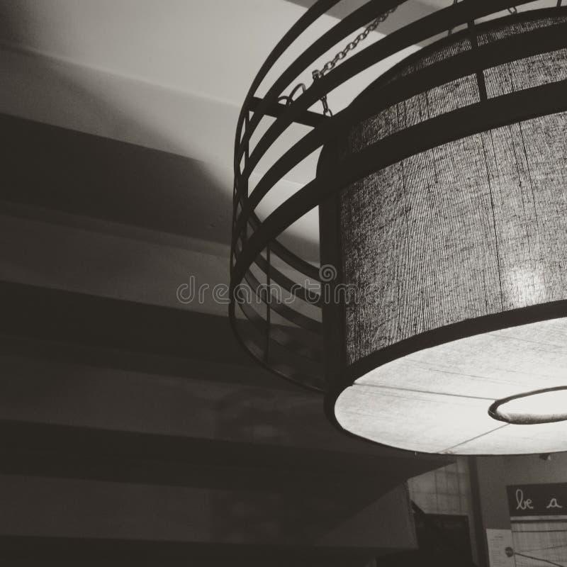 candeliere nello stile minimo fotografia stock libera da diritti