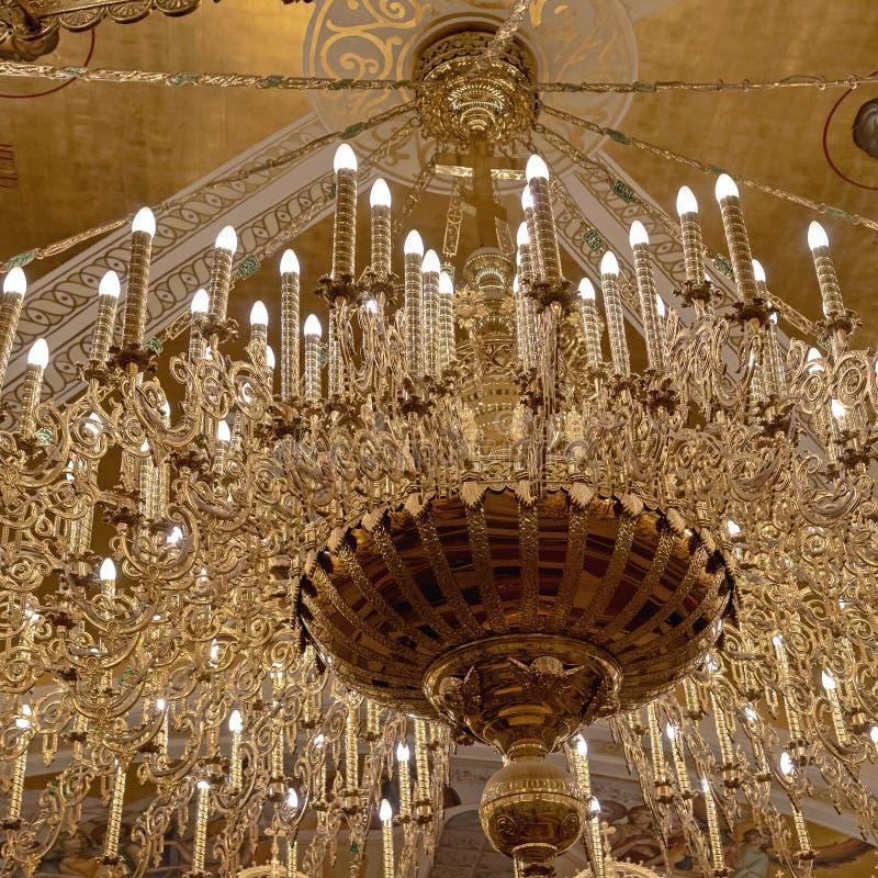 Candeliere principale cripta immagine stock libera da diritti