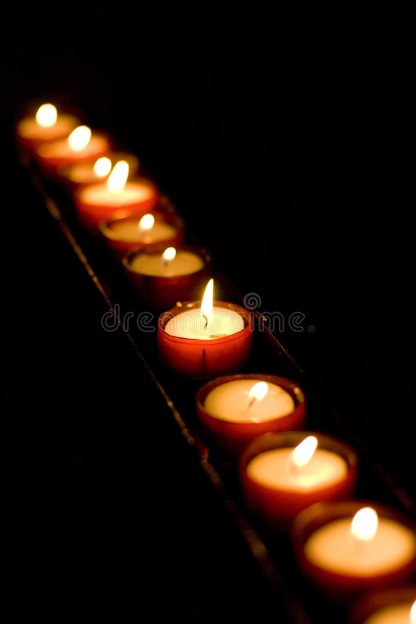 Candels images stock