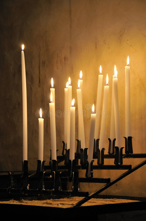 candels obrazy royalty free