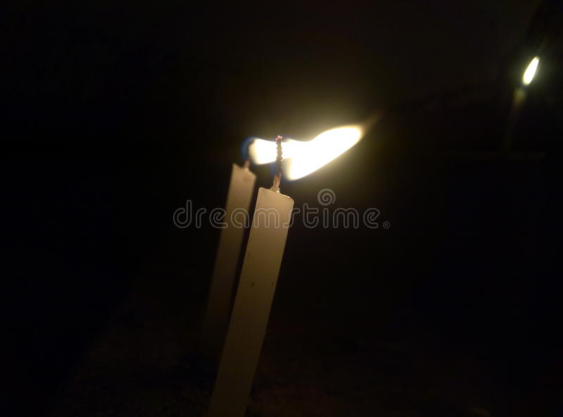 Candels of Diwali royalty free stock photography