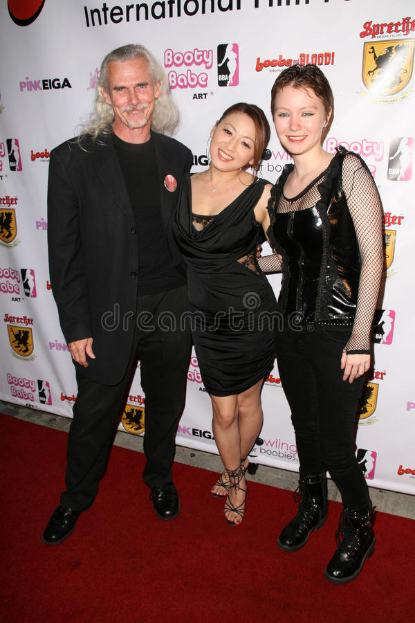 Download Canden Toy, Reiko Yamaguchi And Stefanie Von Guest At The Boobs And Blood International Film Festival Opening Night, New Beverly C Editorial Stock Photo - Image: 25007038