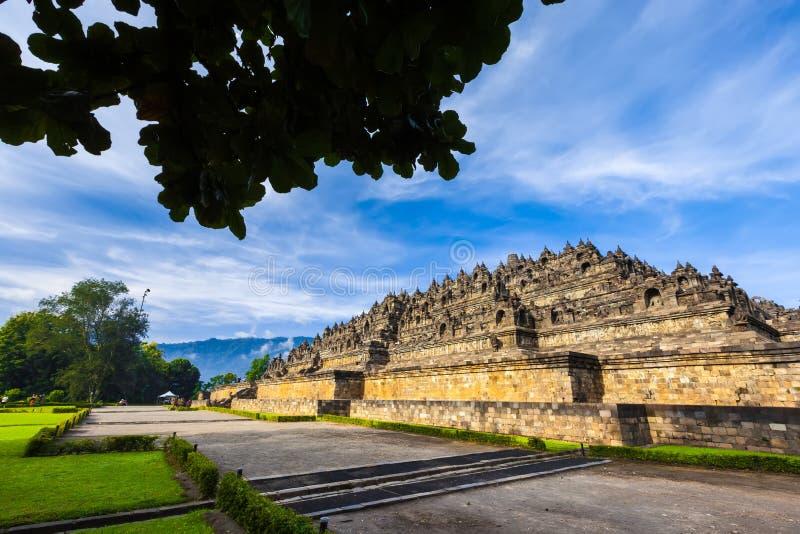 Candi Borobudur, Yogyakarta, Jawa, Indonesië royalty-vrije stock fotografie