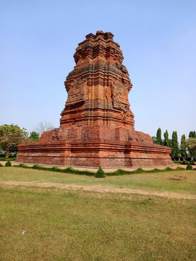 Candi Brahu es una herencia del reino de Majapahit fotos de archivo