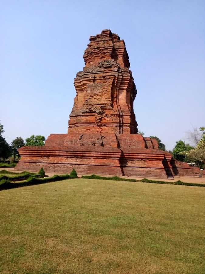 Candi Brahu es una herencia del reino de Majapahit imagen de archivo libre de regalías