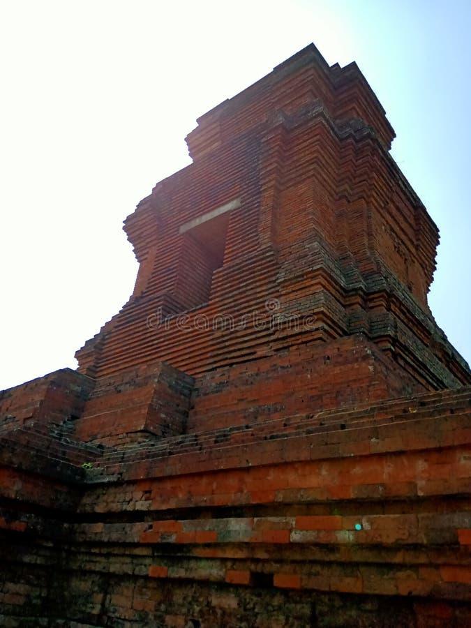 Candi Brahu es una herencia del reino de Majapahit fotografía de archivo libre de regalías