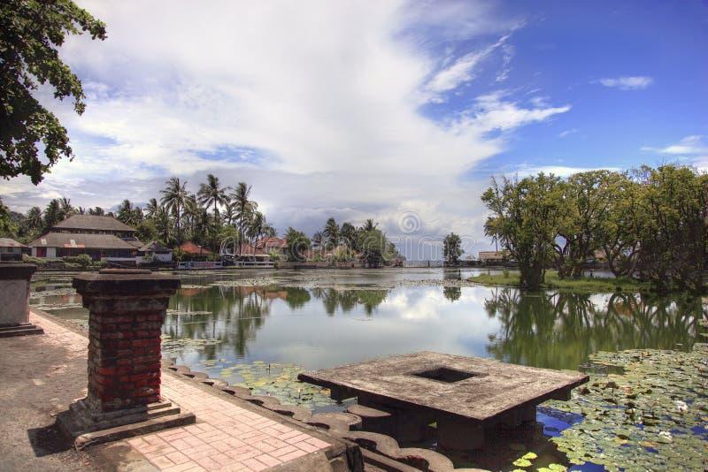 Candi Dasa, Bali do leste, Indonésia imagem de stock