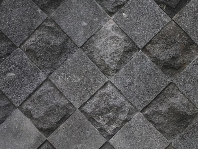 Candi Diagonal Grey Stone photographie stock