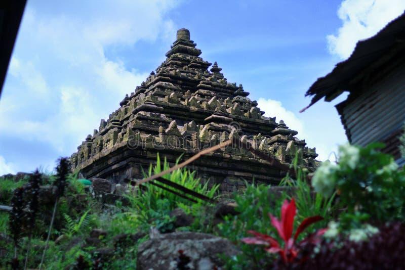 Candi Ijo/Groene Tempel royalty-vrije stock foto