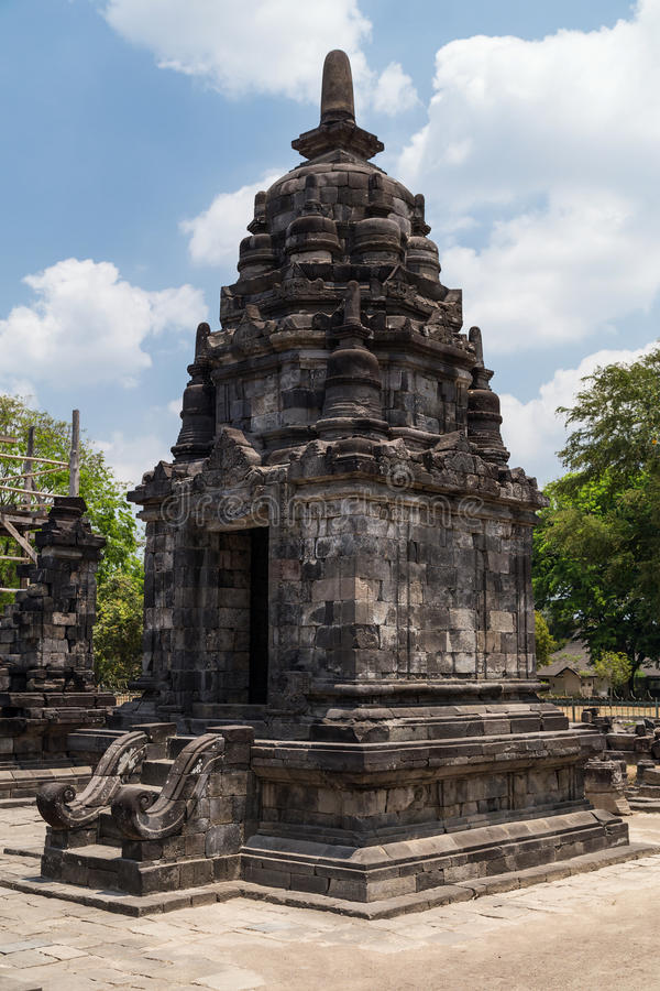 Candi Lumbung en el complejo del templo de Prambanan, Java, Indonesia imágenes de archivo libres de regalías